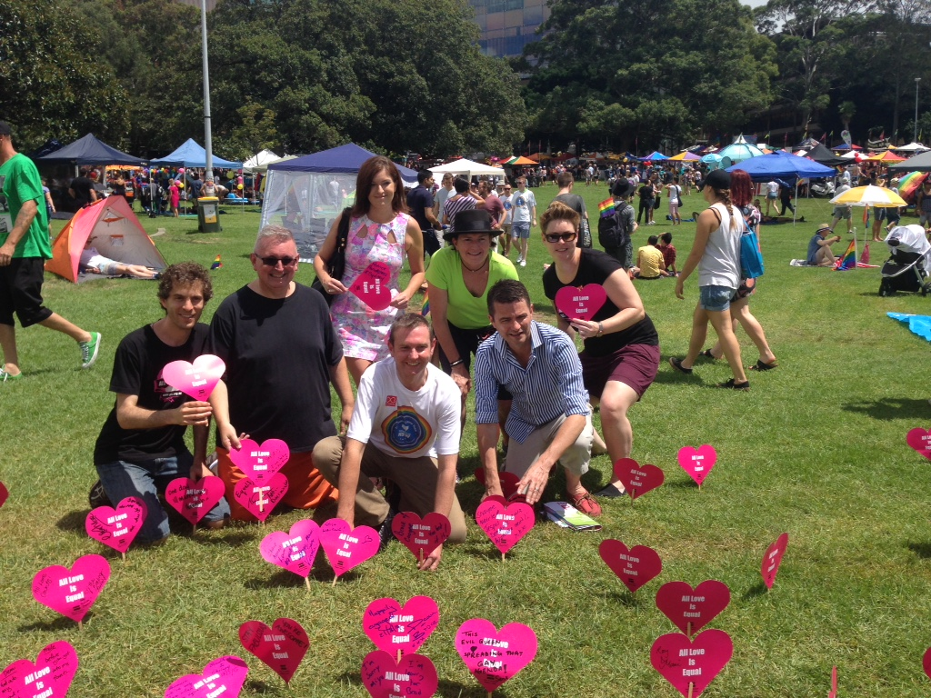 Christine Forster @ Mardi Gras Fair Day 1 2015