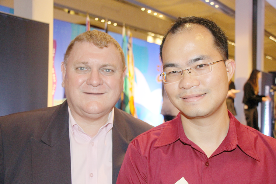 John Dixon & San @ Citizenship Ceremony 13-02-15